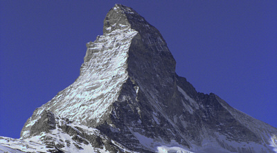 The Materhorn, an incredible peak