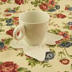 handmade porcelain cupfor espresso