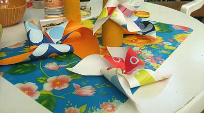 selfmade pinwheel