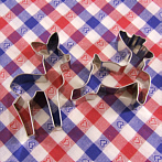 Pastry cutters deer and fawn