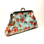 flower coin bag French