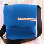 Skyblue Handmade Felt Bag