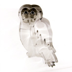 funny cooki cutter owl shape