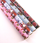 sweet birthday roll wrap paper