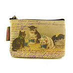 Pouch with Cats