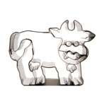 "Cookie Cutter Cow ""Rosemarie"""