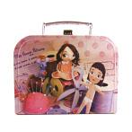 sweet nostalgic cardboard suitcase sew stuff