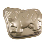 cake baking pan cow