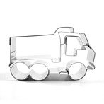 "Truck Cookie Cutter ""Luitpold"""