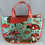 "Funky Shopping Bag ""Elsa"" with Fly Agaric"