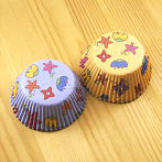 flower muffin baking cases