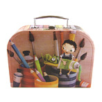 "Colourful Little Cardboard Suitcase Crafts ""Clarisse"""