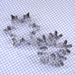cookie cutter set snowflake and ice crystal