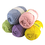versatile candy color new pure wool