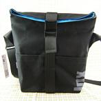 veränderbare handgemachte schwarze Schulter-Tasche