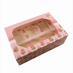"Vintage Rose Muffin Box ""Grete"""
